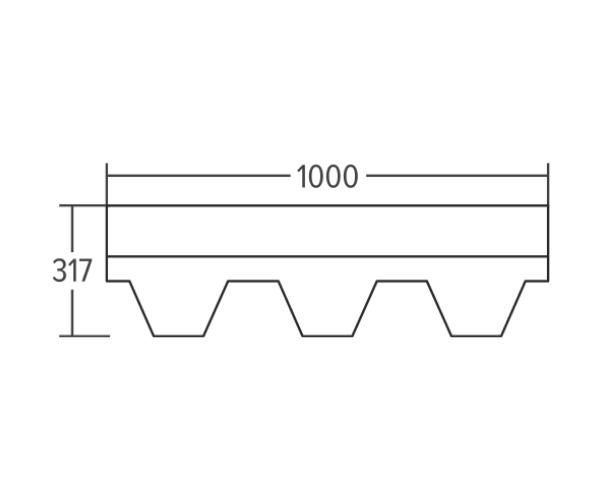 Kärgkatusekate 3m² _2