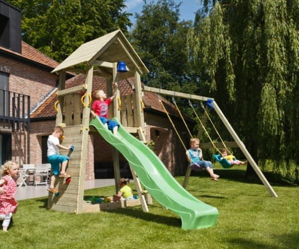 Mänguväljak Belvedere + kiigemoodul Swing