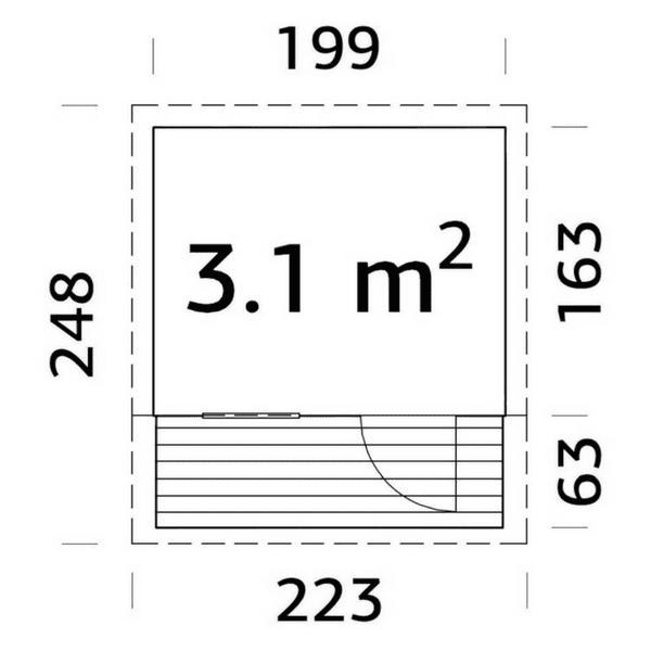 a91efd44263 Mängumaja Aksel - manguvaljakud.eu