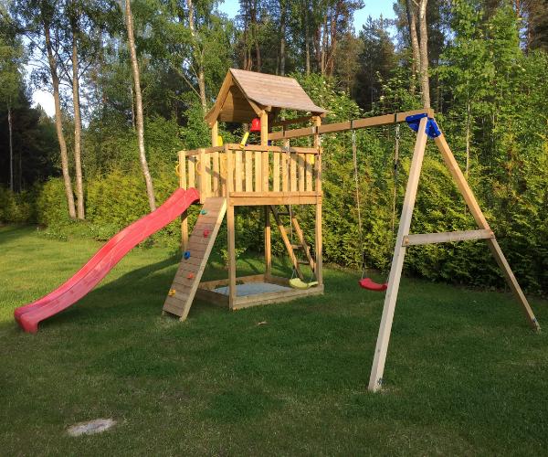 Mänguväljak Pagoda + kiigemoodul Swing (immutatud)