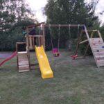 Mänguväljak Cascade + ronimismoodul Challenger (pruun immutatud)