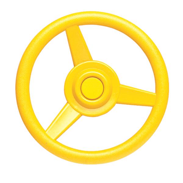 Rooliratas 30cm kollane