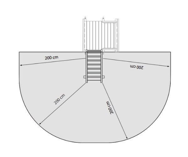 Manguvaljaku lisamoodul trepp platvormile