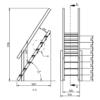 Trepp käsipuuga platvormile