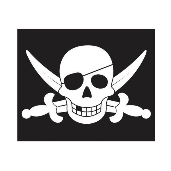 Piraadi lipp nööriga
