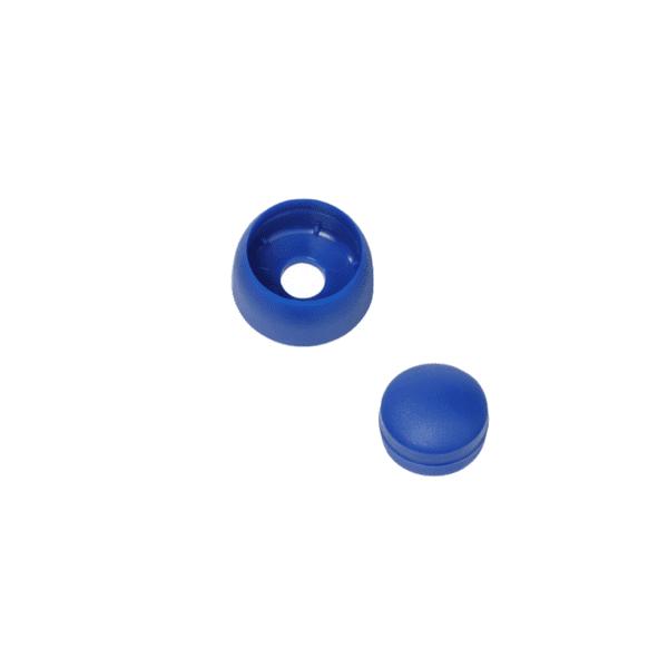 Poldikate puidu peale (poldile Ø 8-10 mm) sinine