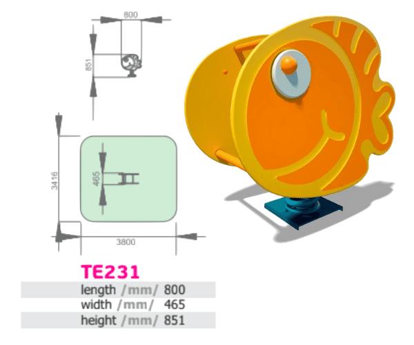 Vedrukiik Kala (TE231)