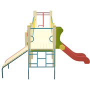 Mänguväljaku komplekt väike sild (TE811)