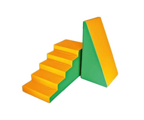 Mängumoodulite komplekt 1 oranz/roheline