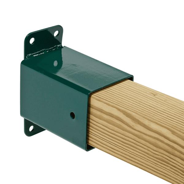 Kiigepuu kinnitus kandilisele puidule 90x90mm