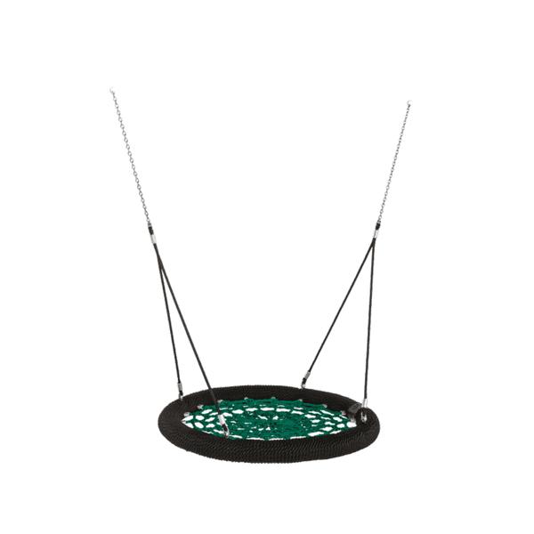 "Pesakiik Nest ""Rosette"" 1200mm (roheline/must/must)"