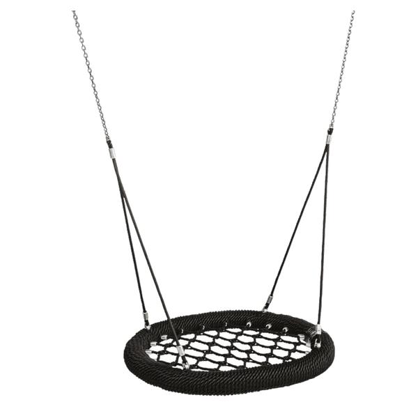 "Pesakiik Nest ""Ovaal PRO"" 1000x875mm (must/must/must)"