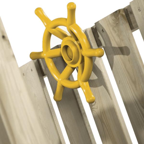 Rooliratas 35cm kollane