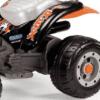 PEG PEREGO® Laste ATV akuga 12V Corral T-Rex oranž