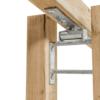 Kaalukiige hing puitkonstruktsioonile