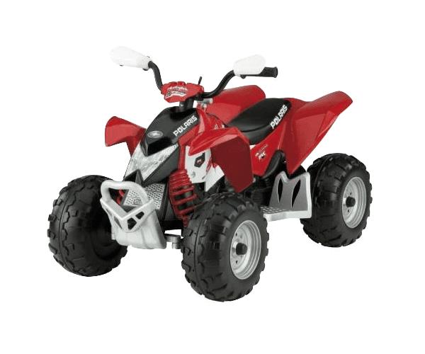Laste ATV akuga 12V Polaris Outlaw punane