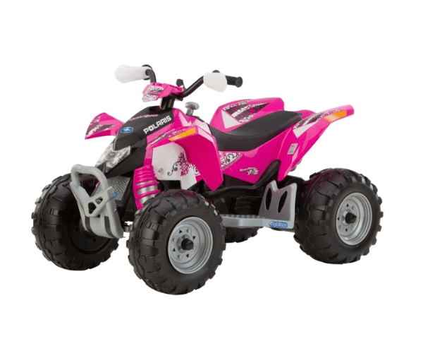 PEG PEREGO® Laste ATV akuga 12V Polaris Outlaw Pink Power
