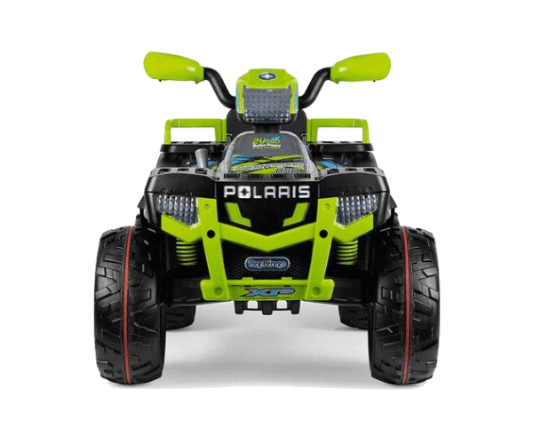 PEG PEREGO® Laste ATV akuga 12V Polaris Sportsman 850 Lime