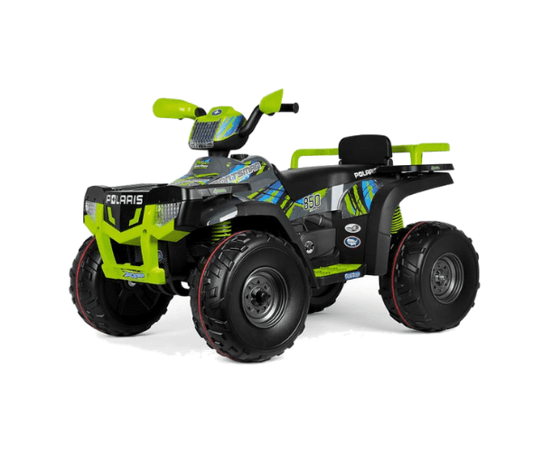 PEG PEREGO® Laste ATV akuga 12V Polaris Sportsman 850 Lime