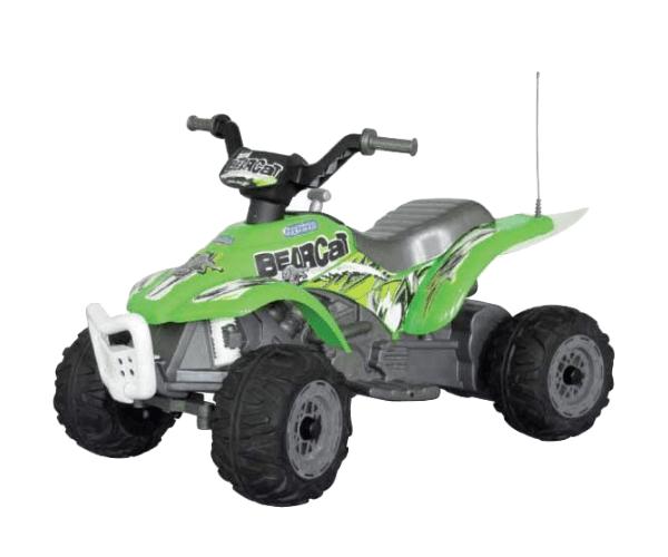 PEG PEREGO® Laste ATV akuga 6V Corral Bearcat roheline