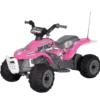 PEG PEREGO® Laste ATV akuga 6V Corral Bearcat roosa