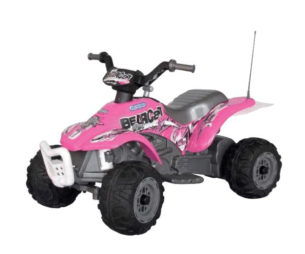 d0a864bbbcf PEG PEREGO® Laste ATV akuga 6V Corral Bearcat roosa - manguvaljakud.eu