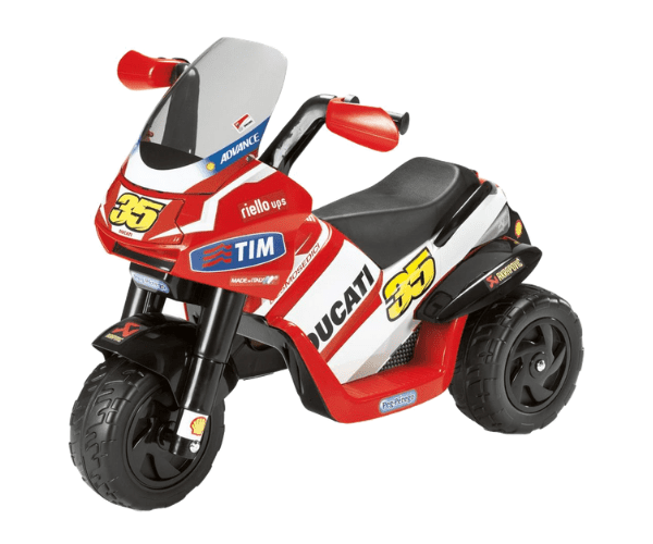 PEG PEREGO® Laste mootorratas akuga 6V Ducati Desmosedici Raider