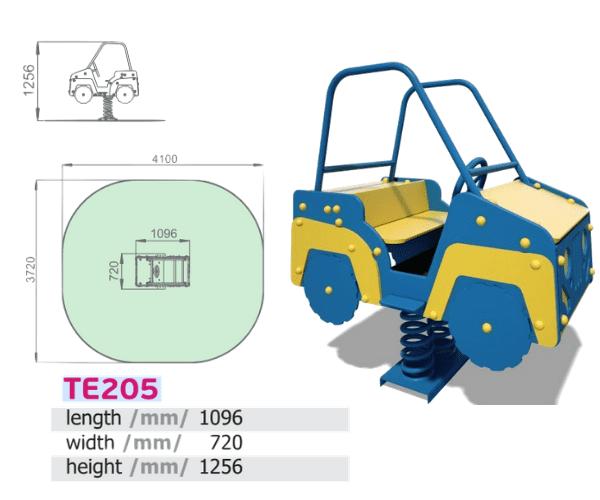"""Vedrukiik Auto (kahekohline) """"TE205"""""""