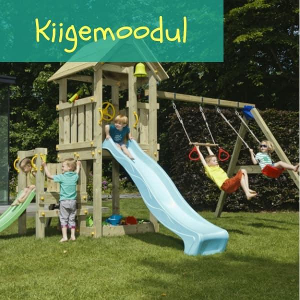 Mänguväljak Kiosk + kiigemoodul Swing (immutatud)