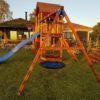 Mänguväljak Palazzo + kiigemoodul Swing (immutatud)