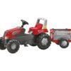 Pedaalidega traktor käru Rolly Junior RT