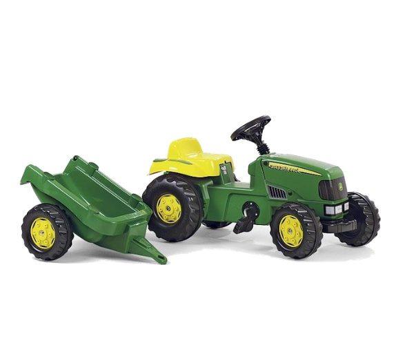 Pedaalidega traktor karuga John Deere