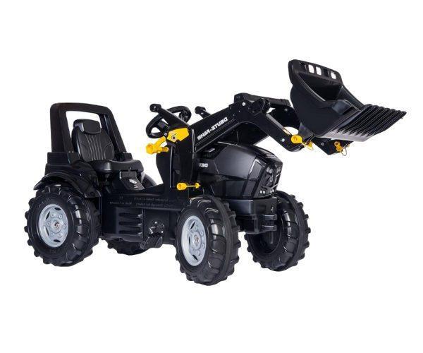 Pedaalidega traktor kopaga Deutz Fahr Warrior