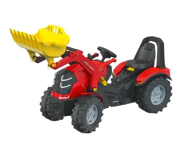 Pedaalidega traktor kopaga Rolly X-Trac Premium