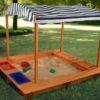 Liivakast päikesevarjuga 'KidKraft'