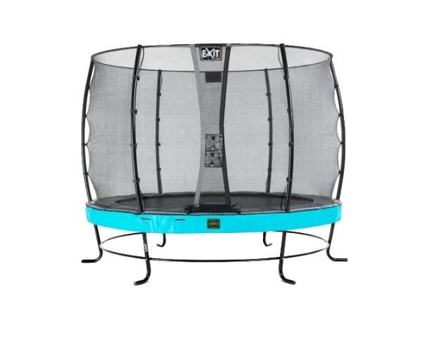 Batuut 'Elegant Premium' Ø305cm + ohutusvõrk Economy, vedrukate ja ankrud 4tk, sinine