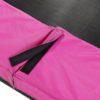 Batuut 'Siluett' + ohutusvõrk ja vedrukate, roosa