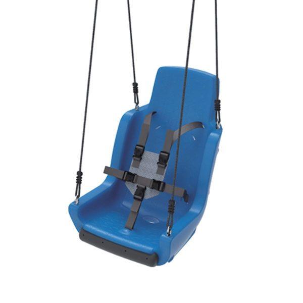 Kiigeiste erivajadustega lastele turvarihmadega 'Chainset' sinine