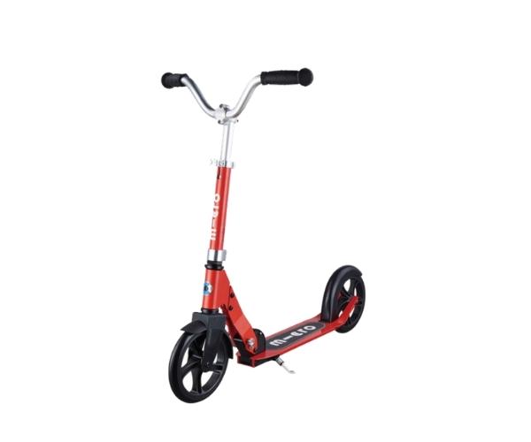Laste tõukeratas Micro Cruiser (punane), lastele 5-12 aastat