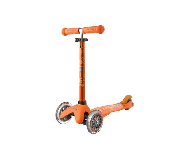 Laste tõukeratas Micro Mini Deluxe (oranž), lastele 2-5 aastat
