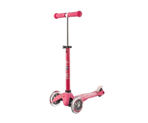 Laste tõukeratas Micro Mini Deluxe (roosa), lastele 2-5 aastat