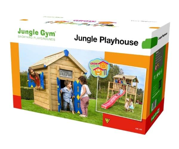 Tee ise mängumaja: Mängumaja Crazy Playhouse (ilma puitmaterjalita)