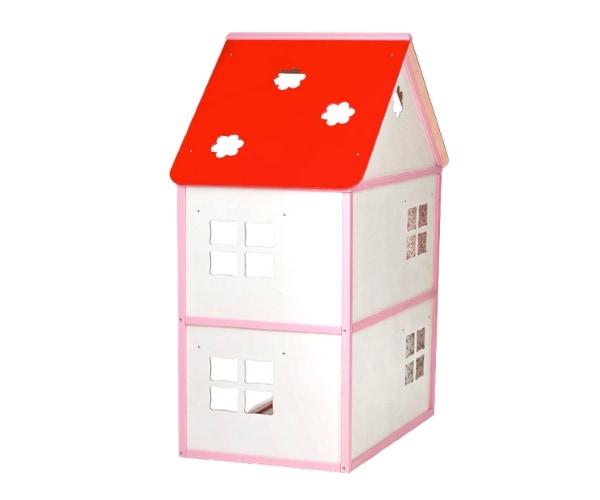 Puidust nukumaja Liisi (kõrgus 101cm), roosa