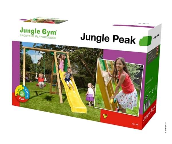 Tee ise kiik: kiik Jungle Peak (ilma puitmaterjalita)