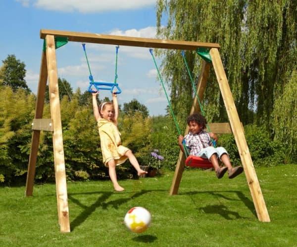 Tee ise kiik: kiik Jungle Swing (ilma puitmaterjalita)