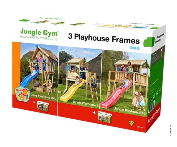 Tee ise mängumaja: mängumaja Crazy ja Jungle platvorm (ilma puitmaterjalita)