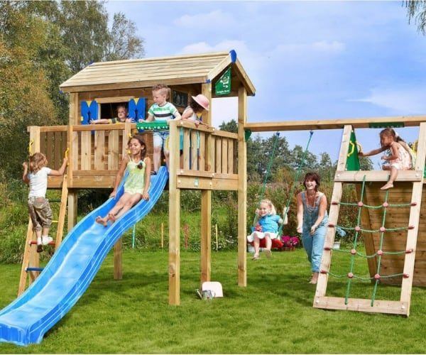 Mängumaja Jungle Gym Jungle XL + ronimismoodul Climb