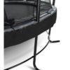 Batuut 'Elegant Premium' Ø305cm + ohutusvõrk Deluxe ja vedrukate, must