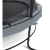 Batuut 'Elegant Premium' Ø427cm + ohutusvõrk Economy, vedrukate ja ankrud 4tk, hall-3