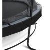 Batuut 'Elegant Premium' Ø427cm + ohutusvõrk Economy, vedrukate ja ankrud 4tk, must-4